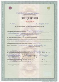 Лицензия Ястреб Л